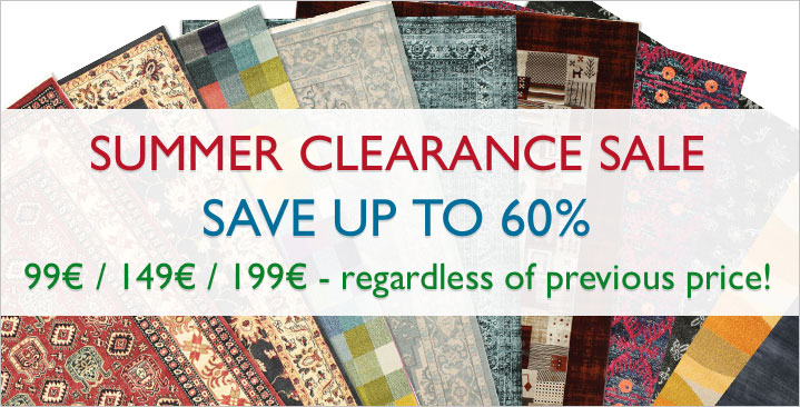 Summer Clearance Sale - Save up to 60%