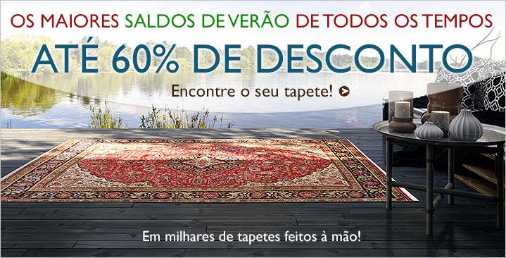 Saldos de verão 30 - 60%