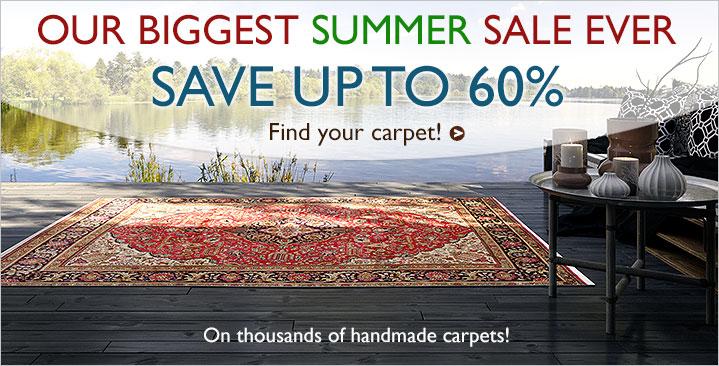 Summer sale 30-60% off