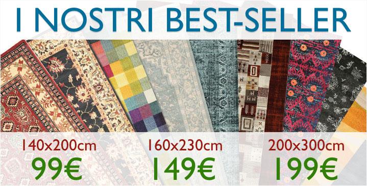 I nostri best seller a 99€ / 149€ / 199€