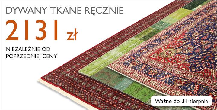 Mieszanka ręcznie tkanych dywanów, 2131 zł niezależnie od poprzedniej ceny!