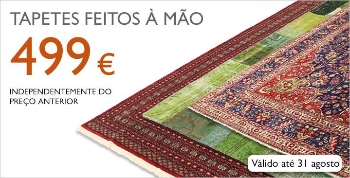 Tapetes feitos à mão, 499 € independentemente do preço anterior!