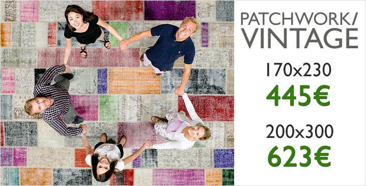Patchwork <b>445 €  / 623 €</b>