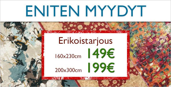 Suosikkimatot nyt 149€ / 199€ kappale