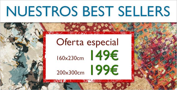 149€ / 199€ por nuestras alfombras más vendidas