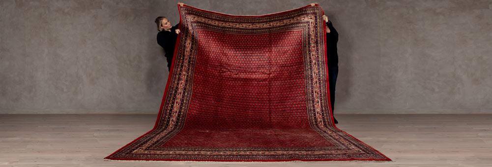 大きいサイズの絨毯