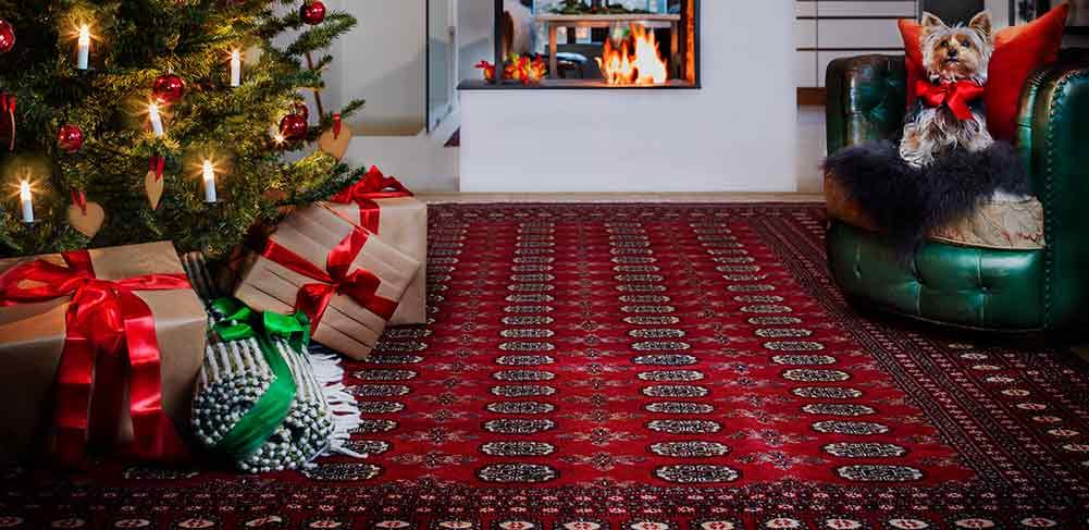 Tappeto rosso per Natale