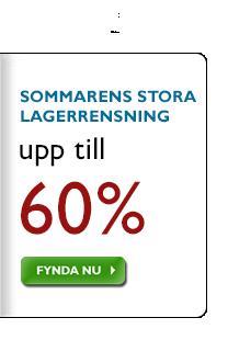 Sommarens Stora Lagerrensning - Spara upp till 60%