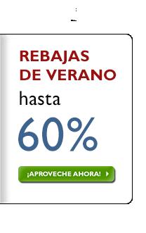 Rebajas de verano del 30-60%