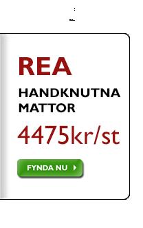 Handknutna mattor 4475 kr, oavsett tidigare pris!