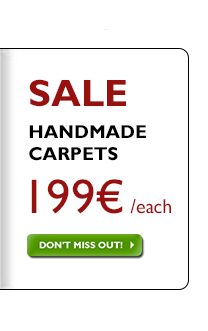 Handmade carpets 199 €, regardless of previous price!