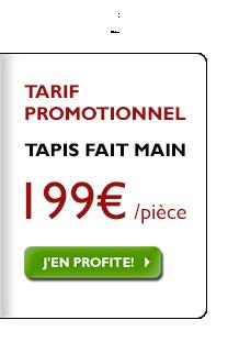 Assortiment de tapis faits main, 199 € quel que soit le prix d'origine!