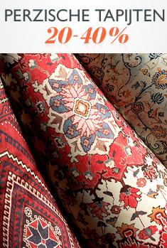 Perzische tapijten 20-40%