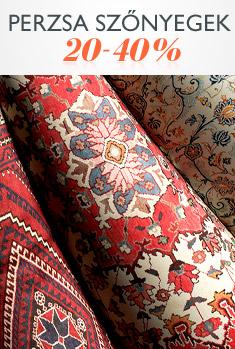 Perzsa szőnyegek 20-40%